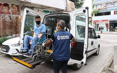 YKS için engellilere özel ulaşım hizmeti