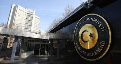 Yunanistan'ın Ankara Büyükelçisi, Bakanlığa çağrıldı