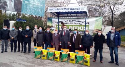 Yüzde 50 hibeli tohum desteği başlandı